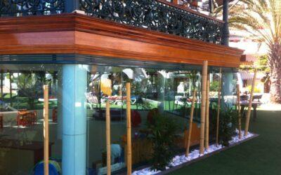 Hotel Parque Santiago III Tenerife Rehabilitación - Dressler Aluminio