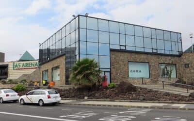 Proyecto para Centro Comercial Las Arenas, en Gran Canaria. Dressler Aluminio
