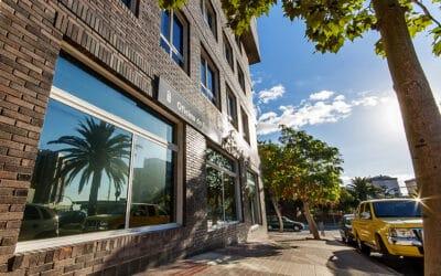 Proyecto para el Edificio del Servicio Canario de Empleo en Tenerife. Dressler Aluminio