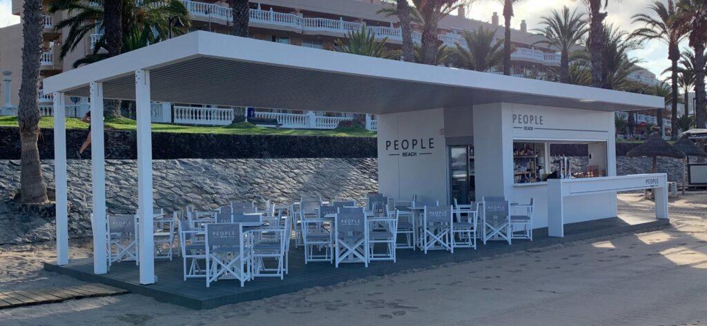 Proyecto en un Kiosco en Arona. Playa del Camisón