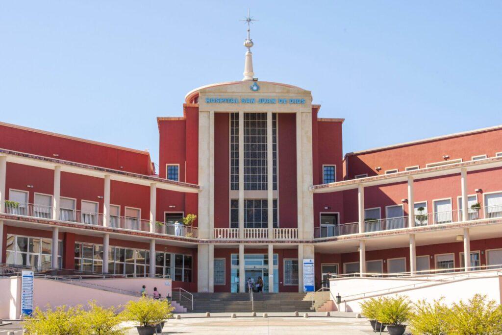 Obra realizada para el Hospital San Juan de Dios, en Tenerife